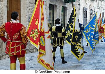 Historical parade.