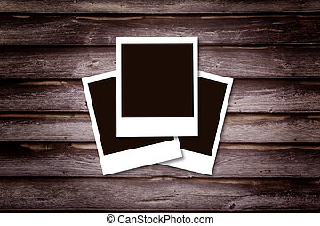 Historical photo concept - Historical polaroid photo concept...