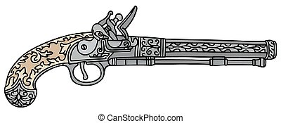 Historical pistol
