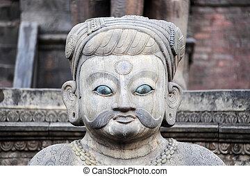 Historical sculptures of buddha - Landmark of historical...