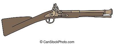 Historical short rifle