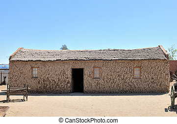 Historical stone house in Kimberley
