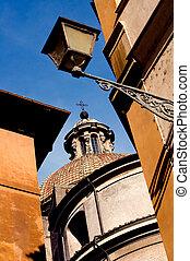 Historical street Rome