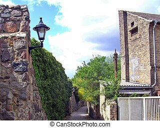 Historical town wall of Templin - Town wall