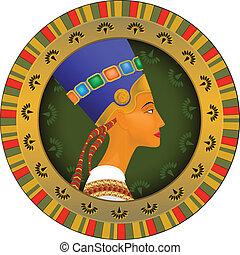 tsarina of Egypt Nefertiti