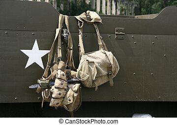 Historical warfare - World War II - historical warfare. Army...
