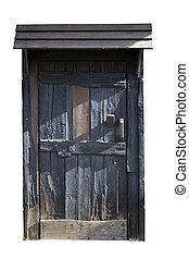 Historical wooden door
