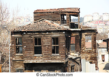 Historical Wooden House Istanbul