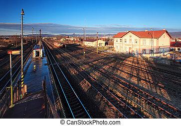 historique, gare