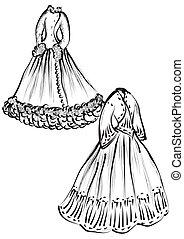 historique, vêtements