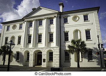 historisch, gerichtsgebäude