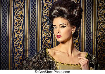 historisch, hairstyle