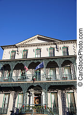 historisch, herenhuis, in, charleston