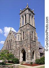 historisk, kyrka