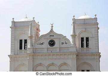 historisk, moské