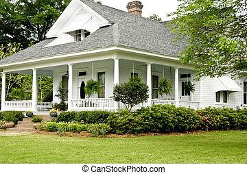 historiske, hjem