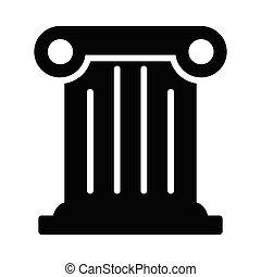 history glyph color icon