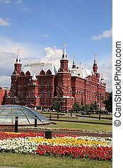 History Museum at Red Square in Moscow