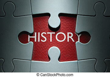 History uncovered by missing jigsaw piece