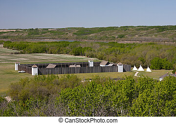 historyczny, fort