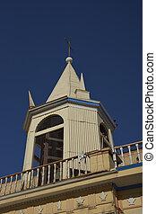 historyczny, kościół, w, la, terana