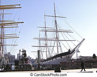 historyczny, nawigacja statek, 2
