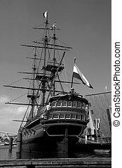 historyczny, statek