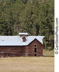 historyczny, stodoła
