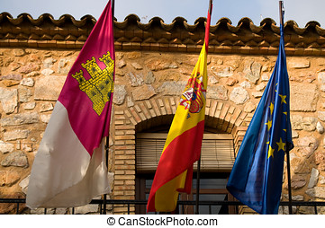 hiszpania bandera