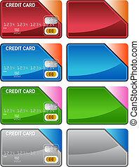 hitelkártya, változatosság