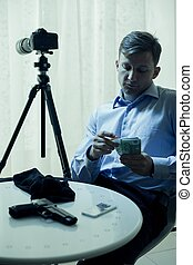 Hitman counting money - Picture of hitman counting money in...