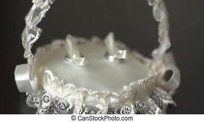 Hitting camera on wedding rings