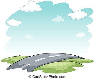 Hitting the road idiom