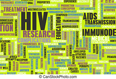 HIV Awareness and Prevention Campaign Concept Art