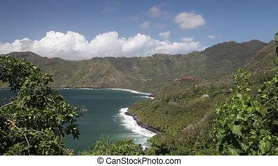 Hiva Oa, Marquesas Archipel, French Polynesia (Realtime)