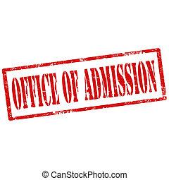 hivatal, admission-stamp