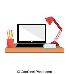 hivatal asztal, munka felad