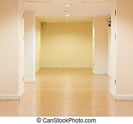 hivatal, folyosó