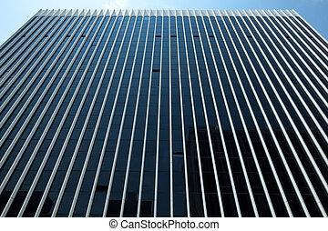 hivatal, modern, washington dc dc, felhőkarcoló, bástya