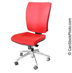 hivatal, piros szék