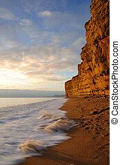 Hive beach near Bridport Dorset.