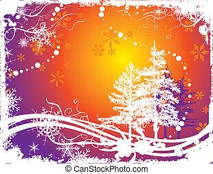 hiver, art