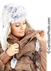 hiver, beauté