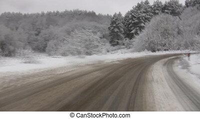 hiver, conduite