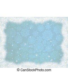 hiver, eps, arrière-plan., 8, noël carte