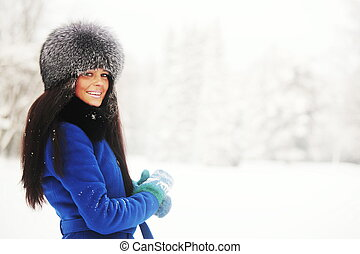 hiver, femmes