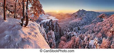 hiver, landcape