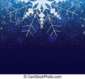 hiver, noël, fond