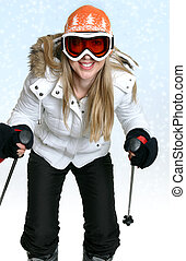 hiver, ski