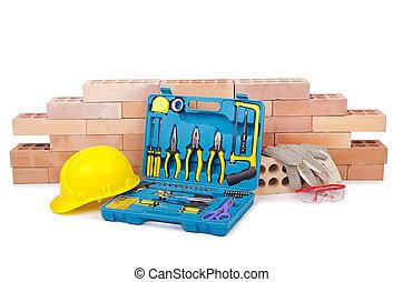 Hjälm, konstruktion, begrepp,  toolkit